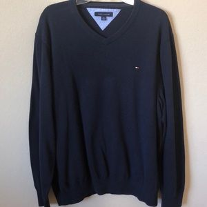 Tommy Hilfiger Classic Navy Sweater